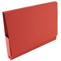 Guildhall Red Pocket Wallet 14x10in Pk50