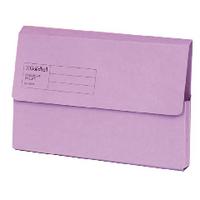 Guildhall Violet Document Wallet Pk50