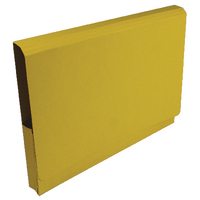 Guildhall Yellow Pckt Legal Wallet Pk25