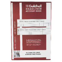 Guildhall 38/16 Headliner Book 1152