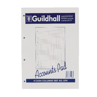 Guildhall 6 Column Account Pad A4 GP6