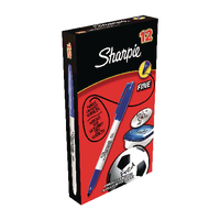 Sharpie Fine Blue Markers Pk12