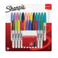 Sharpie Fine Pastel Assorted Marker Pk24