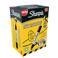 Sharpie Pro king Chisel Perm Marker Pk12