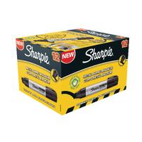 Sharpie Blk XL Perm Chisel Marker Pk12