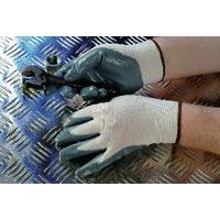 Shield Grey Nitrile Nylon Gloves DI/NN9