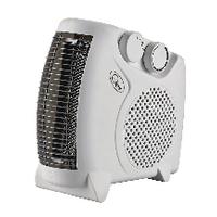 Fan Heater Flat 2kW White