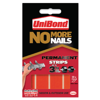 Unibond No More Nail Red Strip Perm Pk10