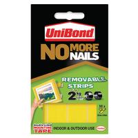 UniBond No More Nails Rmvble Strip Pk10