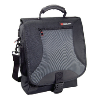 Monolith Nylon Laptop Backpack Blk Gry