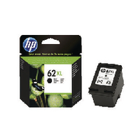 HP 62XL Black Ink Cartridge C2P05AE