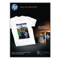 HP Iron-On A4 Transfer 170g Pk12 C6050A