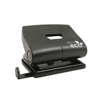 Rapesco Black Eco Med 2 Hole Punch 1086