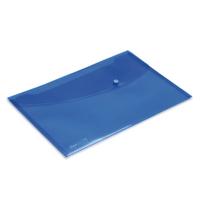 Rapesco Popper Wallet Fs Bright Blue Pk5