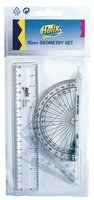 Helix Clear Geometry Set 15cm Pk15