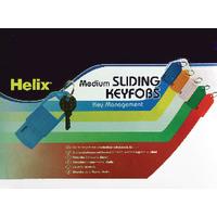Helix Sliding Key Fob Medium Asstd Pk50