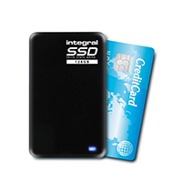 Integral 128GB portable SSD USB3 Drive