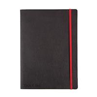 Black n Red Black B5 Soft Cover Notebook