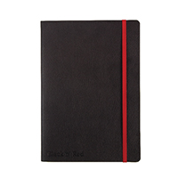 Black n Red Soft Cover Notebook A5