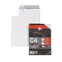 Plus Fabric C4 White Envelope P/S Pk25