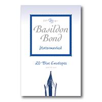 Basildon Bond Blue Small Envelope Pk200