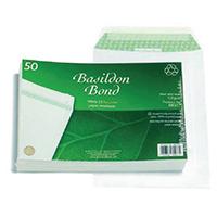 Basildon White C5 P/Seal Envelope Pk50