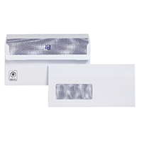 Plus Fabric DL Wndw Envelope S/Seal P500