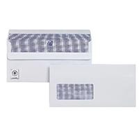 Plus Fabric DL Wdw Env Slf Seal Wht P250