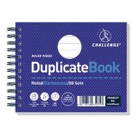 Challenge 105x130mm Duplicate Book Pk5