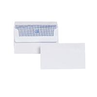 Plus Fabric Wht 89x152mm S/Seal Env P500