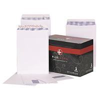 Plus Fabric White C4 Envelope P/S Pk250