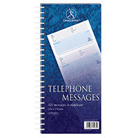 Challenge Wire Telephone Message Pad