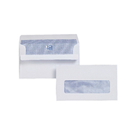 Plus Fabric Env 89x152 Wdw S Sl Wht P500
