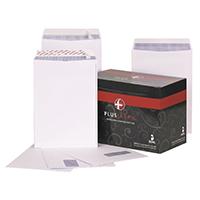 Plus Fabric Wht C4 Envelope S/Seal Pk250