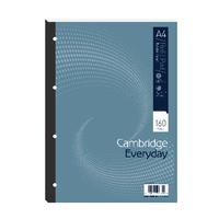 Cambridge A4 4 Hole Ruled Refill Pad Pk5