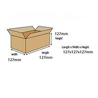 Single Wall Cardboard Box SC-01 Pk25