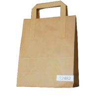 Paper Takeaway Bag Brown Pk250