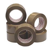 Brown Packaging Tape 50mmx132m Pk6