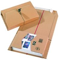 Brown 215x155x58mm Mailing Box Pk20