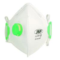 JSP Flat Dispsble Vert Mask FFP1 Valved