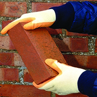 Shield J Flex Glove Size 9 Orange EN388