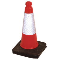 Red 50cm Sand Weighted Cone