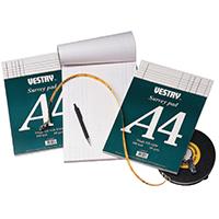Vestry Survey A4 Pad Dimnsn Paper Cv5068