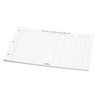 Concord Visitors Book Refill 85801/CD14P