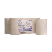 Scott Slimroll Hand Towel Pk6 White 6657
