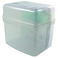 Q-Connect CD Jewel Case Storage Box Cp60