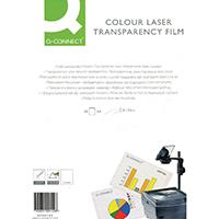 Q-Connect Colour Laser OHP Film Pk50