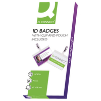 Q-Connect Hot Laminating ID Badge/Clip