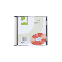 Q-Connect CD-R 700MB/80min Jewel Cased