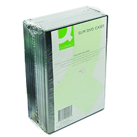 Q-Connect DVD Slim Case Pk10